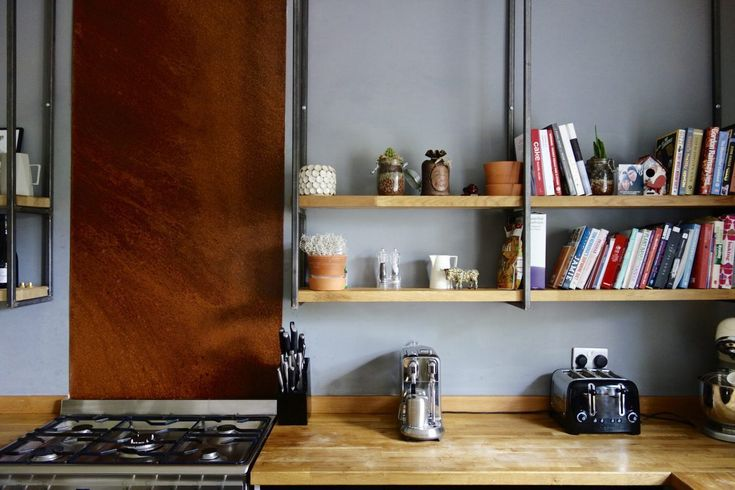 The Industrial Shaker Kitchen