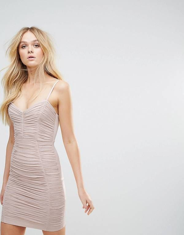 a6df5f24 Lipsy Foil Ruched Cami Mini Dress! | RUCHING - SPRING TREND TO TRY ...