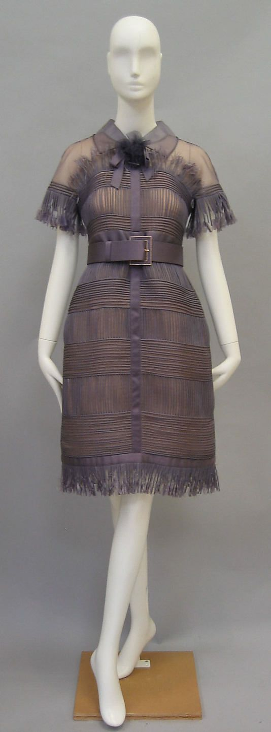 Dress by Karl Lagerfeld for House of Chanel c.a. S/S 2007,  Medium: silk