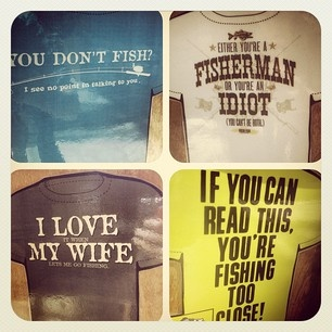 Funny fishing shirts fly fishilicious fly fishing for Funny fishing shirts