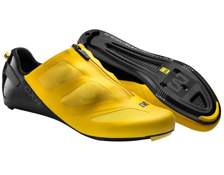 MAVIC CXR ULTIMATE Rennradschuhe yellow