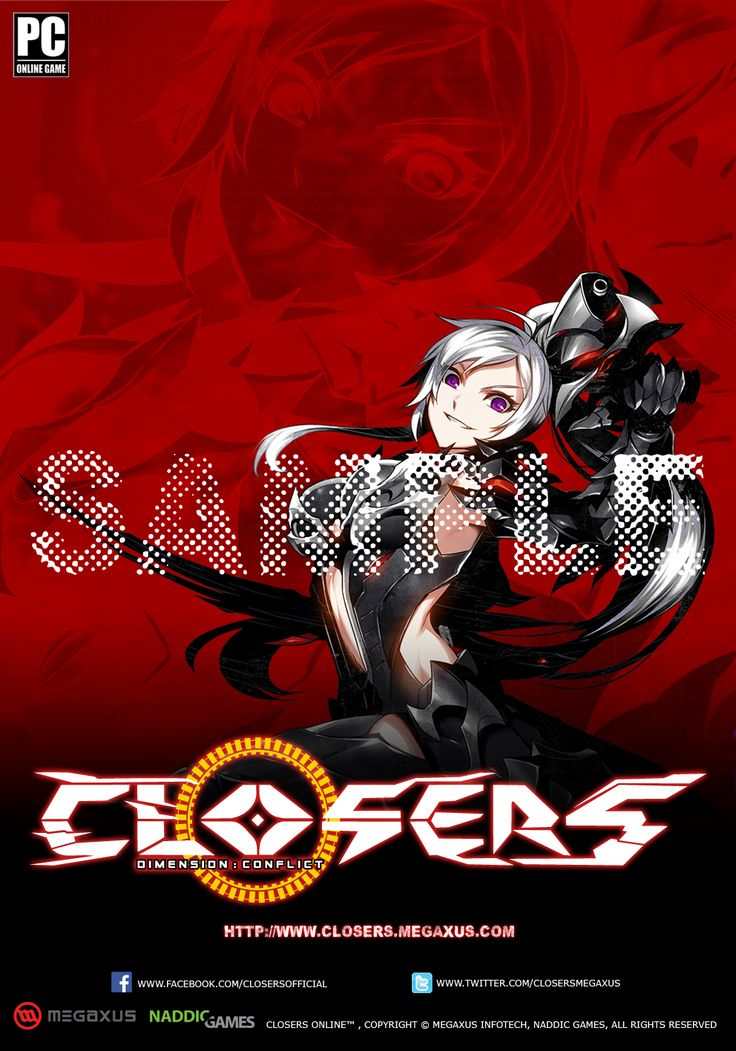 Character Yuri Normal Sample Indonesia Server Poster Splended/Brilliant of Darkness Edition Size 35 x 50 cm NOT FOR SALE