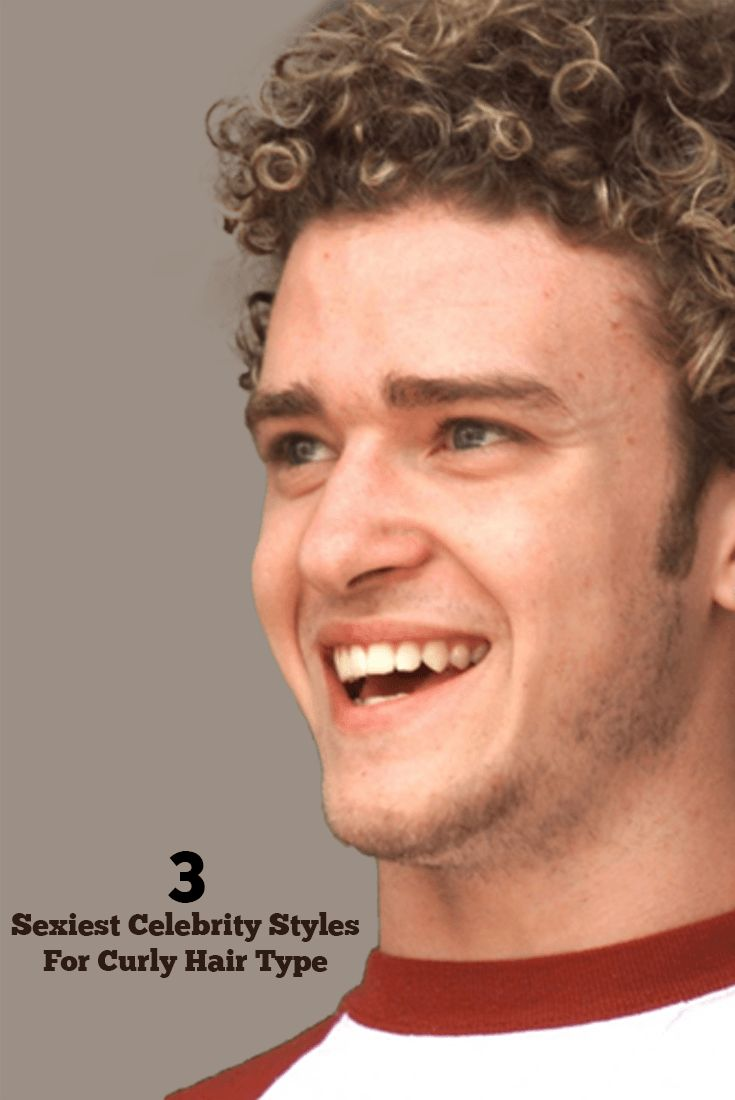 Curly hair Style for Men