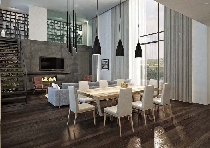 Home interior, 2014 design by S.Gorshunov, S. Shevlyagin