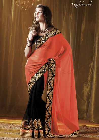 Buy Bollywod Designer Sarees Online India - 677910