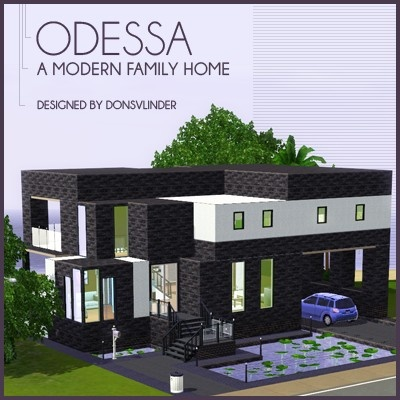 51 best images about sims3 on Pinterest Home Modern houses and