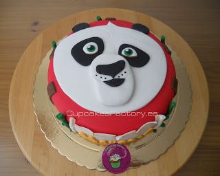 "Cupcakes Factory... ""El Blog"": Tarta kung fu panda / Kung fu panda cake"