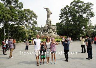 Guangzhou City - Five Rams Park Yuexiu Park - great hike/walk from hotels