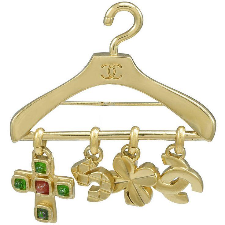 Chanel Hanger Pin | 1stdibs.com