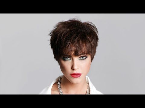 Flat triangular layers with a long fringe,bob - YouTube