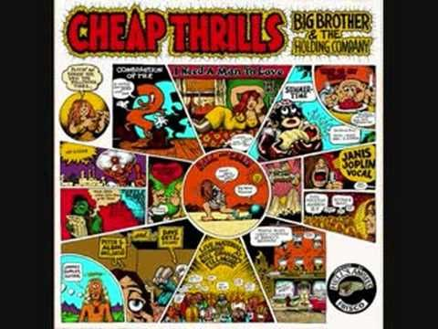 """""""Combination of the Two,"""" from """"Cheap Thrills,"""" Big Brother and the Holding Company with Janis Joplin, 1968"""