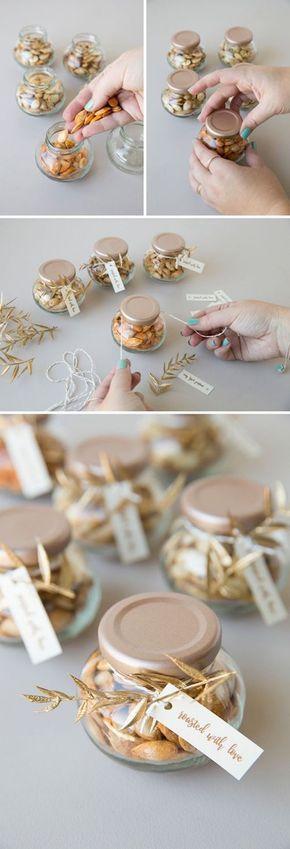 Aprende a asar y empaquetar tus semillas de calabaza, ¡perfectas para una boda de otoño!