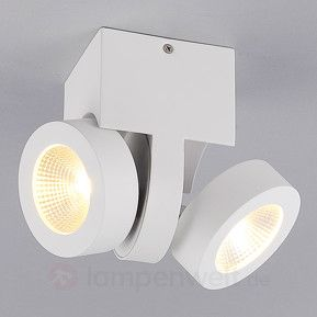 2-flammiger LED-Deckenstrahler Mirac