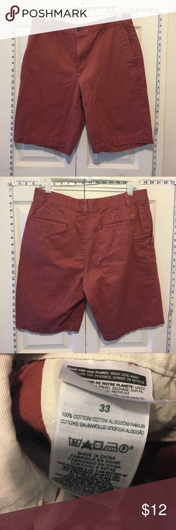 30% Off Bundles Men's Docker's Maroon Shorts Great condition. No marks or stains. Add three more items to your bundle for 30% off. Dockers Shorts