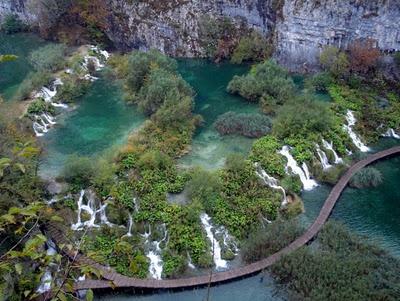 Kroatie, plitvice