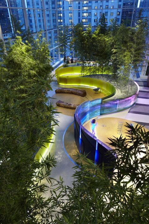 Crown Sky Garden | Chicago USA | mikyoung kim design « World Landscape Architecture u2013 landscape & 686 best Cool Lighting images on Pinterest | Cool lighting ... azcodes.com