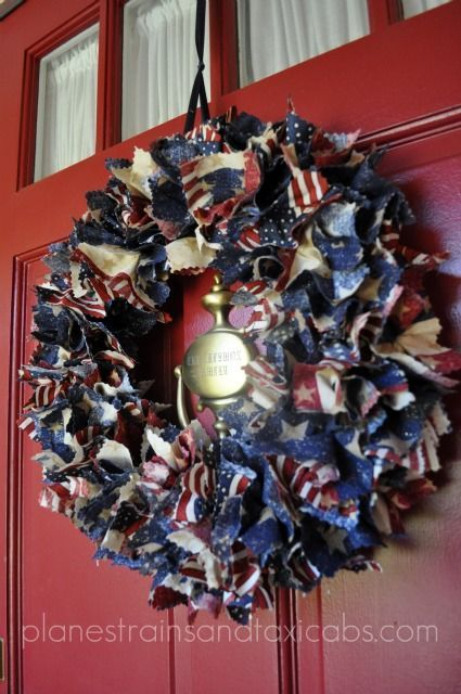 Patriotic Wreaths - Simple Sojourns