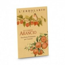 Accordo Arancio illatú fiókillatosító Mandarin, keserű narancs és lampionvirág-kivonattal - Rendeld meg online! Parfüm és kozmetikum család a Lerbolario naturkozmetikumoktól