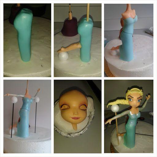 Páginas Doces: Frozen - Elsa