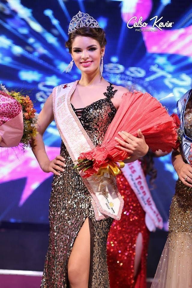 Nadia Ferreira - Miss Teen Universe Paraguay 2014