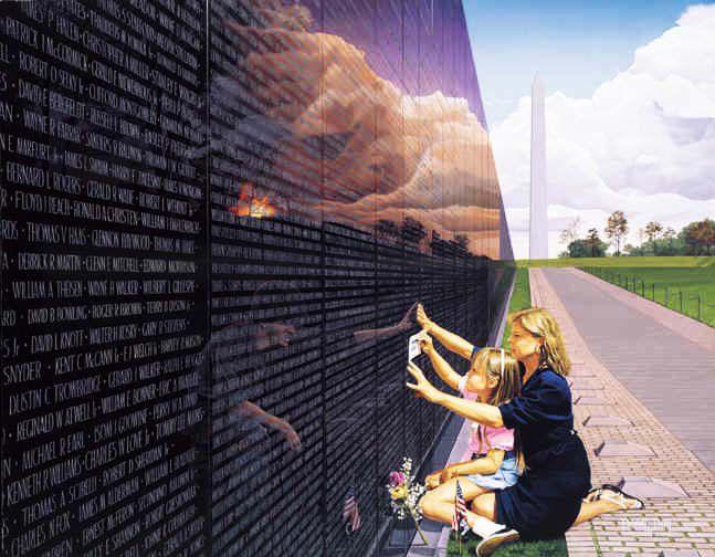 THE VIETNAM VETERANS MEMORIAL - THE WALL