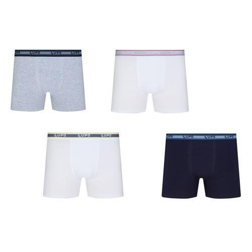 [AMERICANAS] Kit Com 6 Cuecas Boxer - Lupo R$ 59,90 boleto