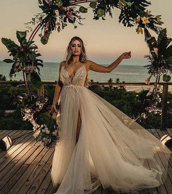 Idéias do altar para a decoração do casamento de praia   – Casamento | Wedding