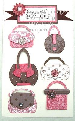 Stampin Up Punch Art Purses - Bing Images