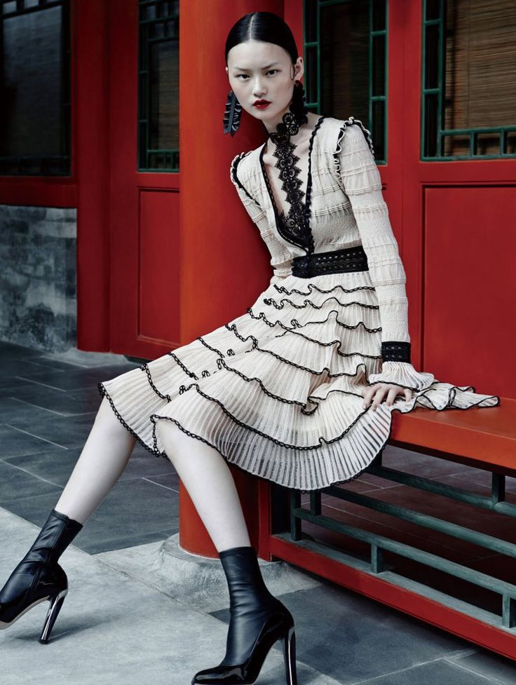 He Cong by Zack Zhang for Vogue China October 2015