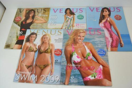 Lot of 5 Venus Swimwear Catalogs from 2009 Bikini Fashion HTF | eBay
