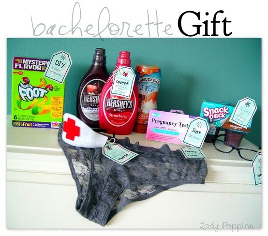 Lady Poppins: Bachelorette Gift @ Do It Yourself Remodeling Ideas