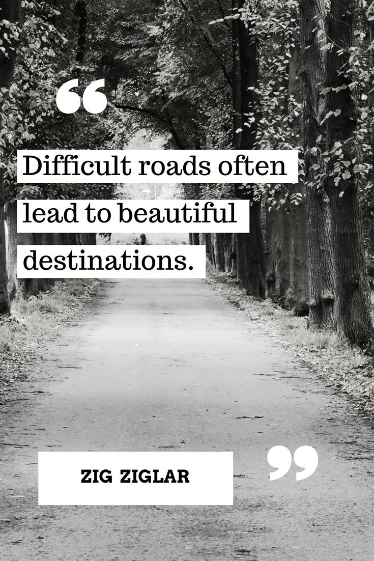 Difficult road lead to great things!