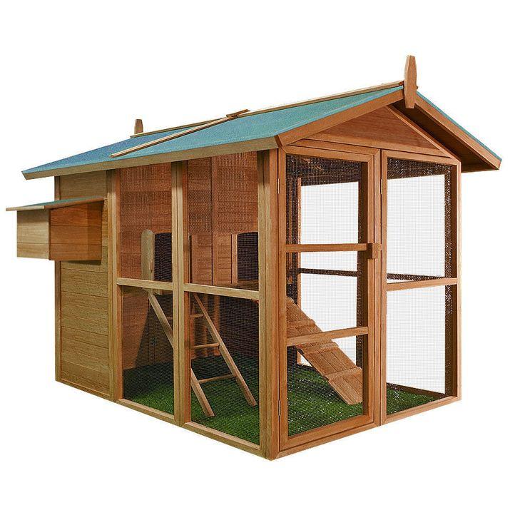 Oltre 25 fantastiche idee su progetti per pollaio su for Conigliera in legno