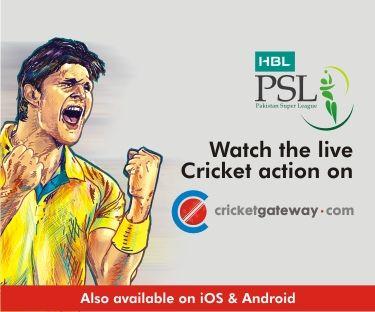 Watch the Pakistan Super League LIVE on CricketGateway.com!