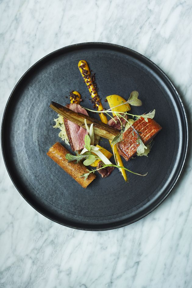 Duck, spiced mango & fennel from Lee Westcott, Typing Room