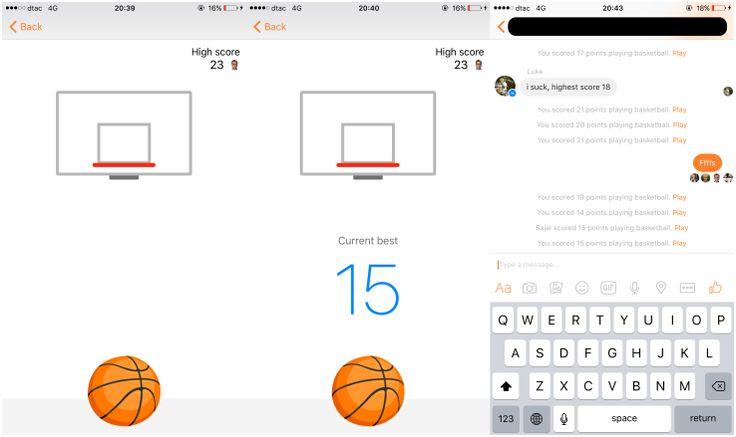 Facebook sneaked a seriously addictive basketball game into Messenger | TechCrunch