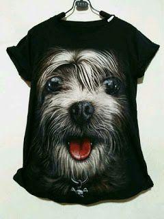 ssfashionkaos: Kaos Dog Black All