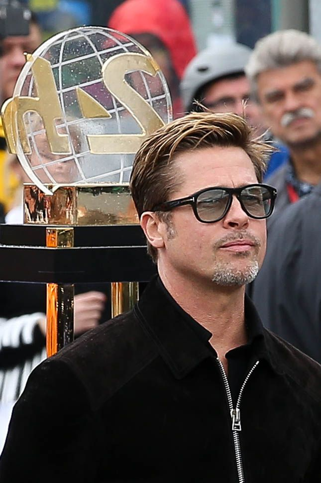 Brad Pitt looks hot at Le Mans 24 hour race and The Undefeated asks if he is the wokest white man in Hollywood Lainey Gossip Entertainment Update