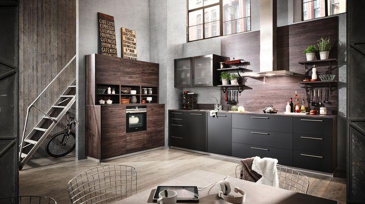 Einbauküche von DIETER KNOLL COLLECTION Einbauküchen Pinterest - alno küchen katalog