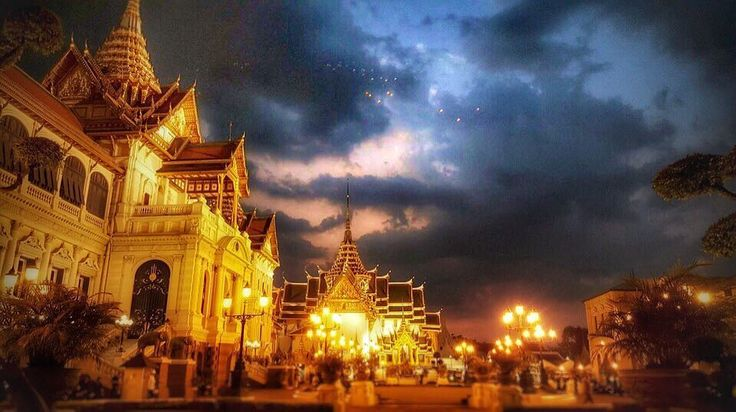 Grand Palace by dusk