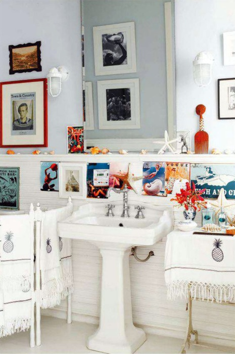 Nautical Bathroom Le Bath Pinterest Nautical