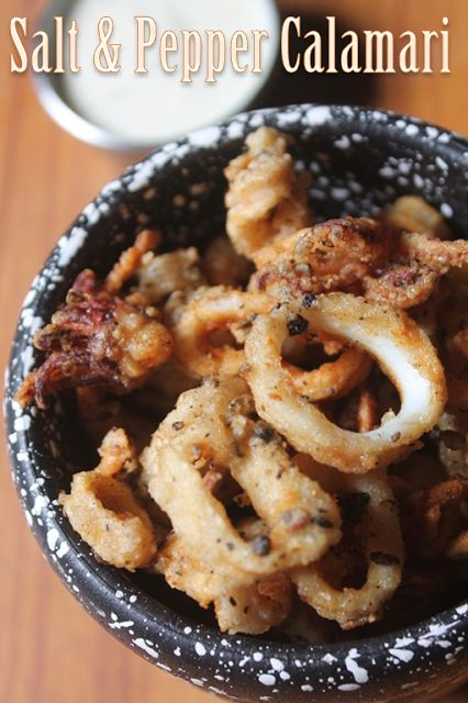YUMMY TUMMY: Salt and Pepper Calamari Recipe - Calamari with Garlic Mayonnaise