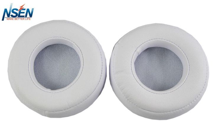Replacement Ear Pad Cushion Cups Cover Earpads Repair Parts For Beats Pro Over-Ear Headphone White