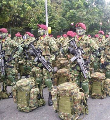 Brigada de Fuerzas Especiales - Mexico.