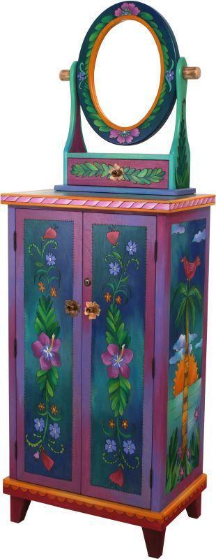 ArtcraftOnline.com - Sticks Jewelry Chest 152, $6,030.60 (http://www.artcraftonline.com/sticks-jewelry-chest-152/)
