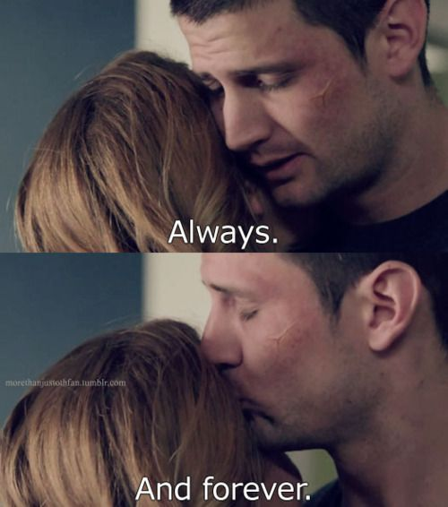 Ive never cried so hard during a scene of One Tree Hill.   Holy Shit. Nathan. I Love you always & forever too:)