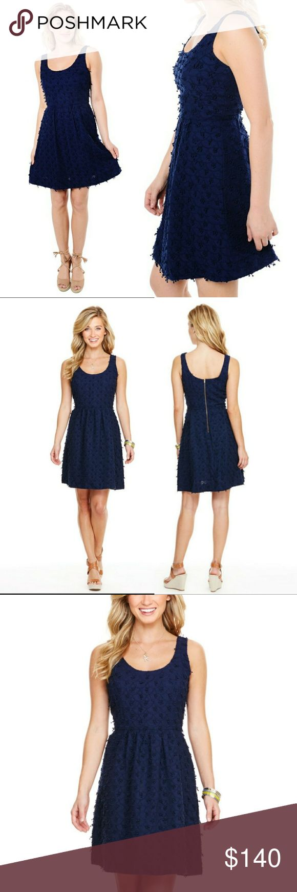 Vineyard Vines Nautical Scallop Fit n Flare Dress Up for sale Brand new with tags Vineyard Vines Nautical Scallop Fit n Flare Dress.  Size 10  MSRP $198 Vineyard Vines Dresses Midi