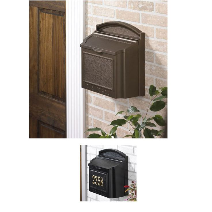 9 Best Wall Mounted Mailboxes Images On Pinterest Mail