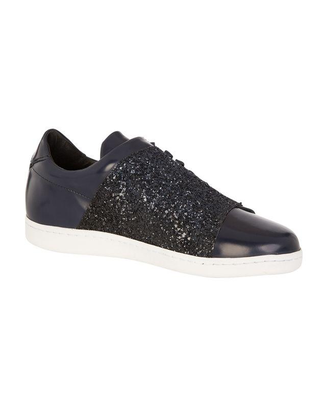Sneakers Slash Purpurina VERGULE - Color DARK NAVY