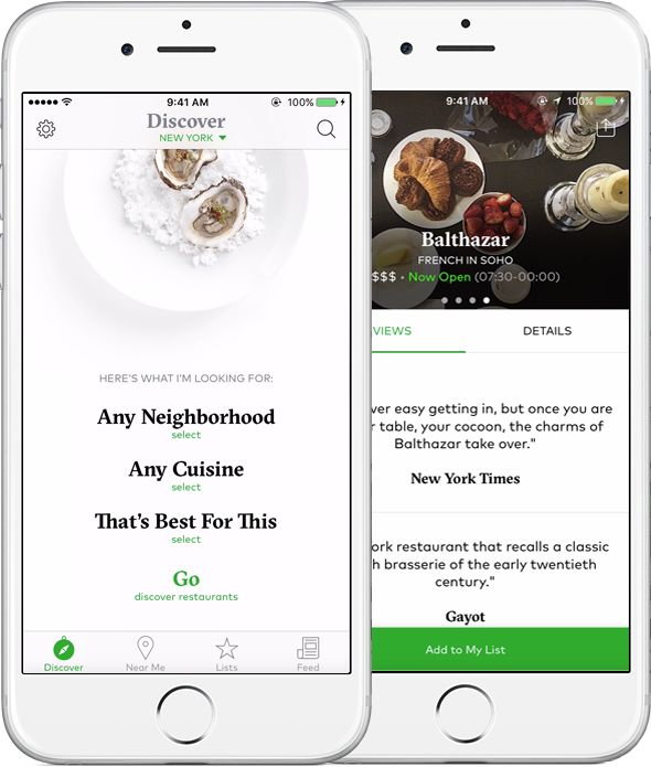 Dine by Tasting Table is a curated restaurant finder that makes it easy to find the perfect restaurant for any occasion.